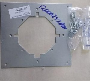 Suporte adaptador do motor YDK110H6B 120002428300 - Suporte metalico do motor ventilador da condensadora YDK110H6B
