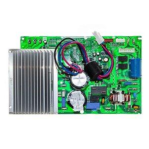Placa de comando com dissipador para condensadora 18.000 btus Elgin 141290607001