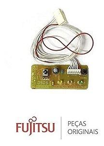 Placa receptora evaporadora fria e quente/fria fujitsu inverter 9707649017