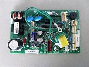 Placa eletronica da evaporadora 9.000 btus fria - Placa principal evaporadora ASBA09JGC