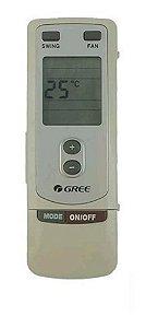 CONTROLE REMOTO GREE 305125063 CRHW/PT 7/60 GA