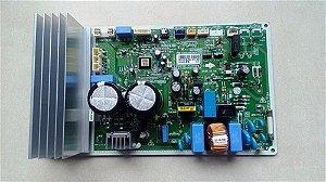 Placa eletronica de comando da condensadora inverter - Placa eletronica da condensadora 18.000 btus fria e q/f