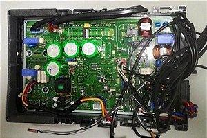 Caixa de controle eletronico inverter lg 24.000 btus - Modulo eletronico da condensadora inverter lg 24.000 btus completo