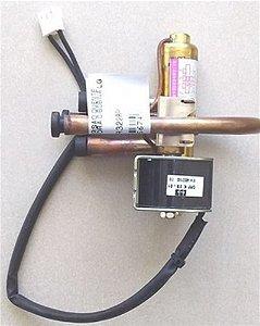 VALVULA DE REVERSÃO QUENTE FRIO CONDENSADORA C/BOBINA LG use - Valvula de reversão q/f c/ bobina LG 9000btu/s e 12000btu/s