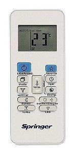 Controle remoto springer frio/quente frio 06320065 original - Controle remoto sem fio springer frio/quente frio 06320065
