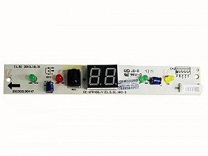 Placa receptora quente fria/fria 201332790083 MIDEA SPRINGER