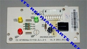 Placa eletronica do display Q/F 18.000 maxiflex 2013328A0011