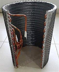 Trocador de calor da condensadora Midea 05301402P