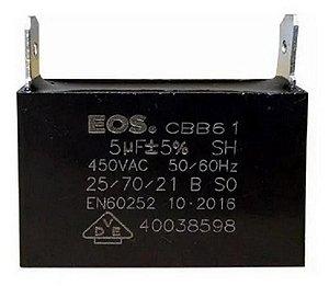 Capacitor caixa  EOS 5 MFD 450V D10226
