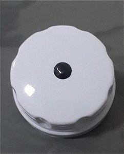 Botão torneira água gelada cinza purificador Everest 21833