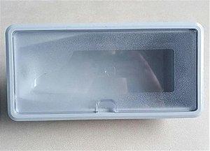 Cj compartimento filtro cinza soft star/plus/flat Everest - Cj compartimento filtro cinza purificador de água soft Everest