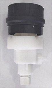 Conjunto torneira preta purificador de agua soft Everest 41846