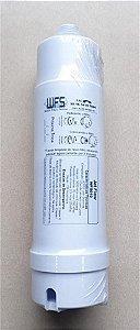 Filtro de água Jett Flow - Refil carvão ativado rosca WFS010 - Filtro de água Jett Flow - Refil carvão ativado rosca para bebedouros