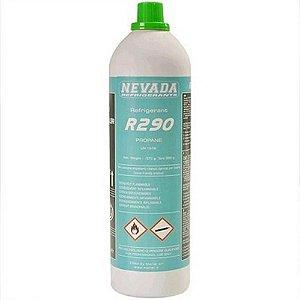 Gas refrigerante r290 propano 370g nevada