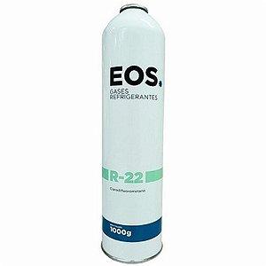 Gas R22 EOS Cilindro De 1Kg sem valvula
