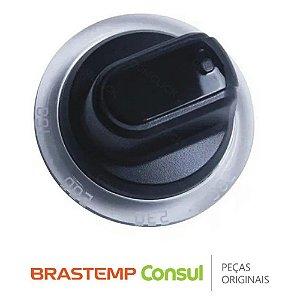 Manipulo de acionamento forno e fogão Natural Brastemp W10451659