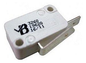 Interruptor da tampa da lavadora Brastemp/Consul 326019620 - Micro chave da tampa da lavadora Brastemp/Consul 326019620