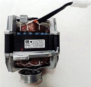 Motor da lavadora 1/4CV 127V Brastemp Consul W11122623 - Motor da lavadora Brastemp Consul W11122623 POLIA MULTI V