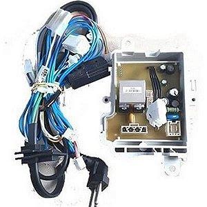 Placa de potencia e rede eletrica superior lavadora consul w11251564