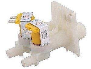 Valvula de entrada de agua da  lavadora Brastemp/Consul 127V W10685605