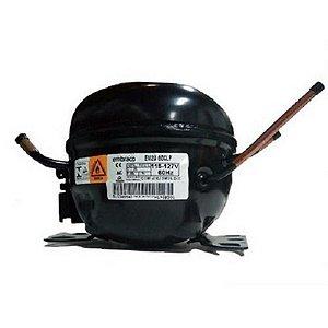 COMP EMBRACO 1/6 EM2U60CLP / EMU60CLP R600A 127V - Compressor Embraco 1/6 EM2U60CLP / EMU60CLP R600A 127V