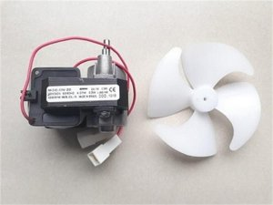 Micromotor 1/100 com helice 220V expositor 001918 - Micromotor 1/100 com helice 220V refrigerador expositor Gelopar