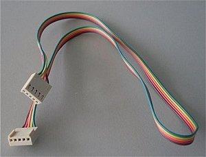 Chicote do display quantum 020104C874 - Chicote do controlador 5 vias