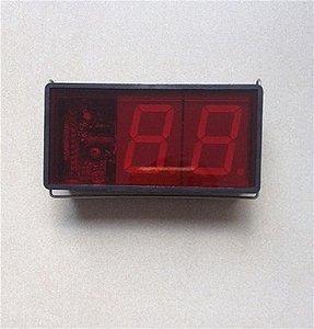 Display controlador Invensys para lata 020204D002 - Display controlador Invensys para lata Refrigerador Metalfrio
