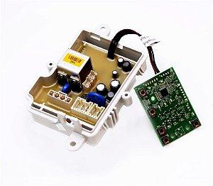 Placa eletronica de controle lavadora brastemp 220V  W10838062
