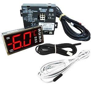 KIT CONTROLADOR COEL K7-4 SET POINT-R134a-GRBA-120/230 conector maior 585919-09