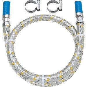 LIGACAO FLEX.INOX.P/GAS P/ESP.C/ABRAC.-1,00M 182517-41