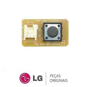 Placa de funções liga-desliga ar condicionado LG  EBR71522401 / EBR78364403