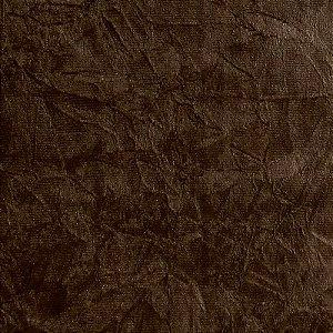 Tecido Suede Amassado marrom escuro