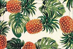 Jogo americano Jacquard abacaxi