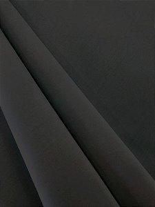 Tecido Tricoline liso preto