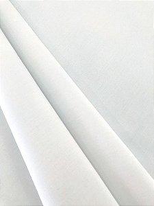 Tecido Tricoline liso branco