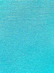 Tecido Jacquard liso azul claro