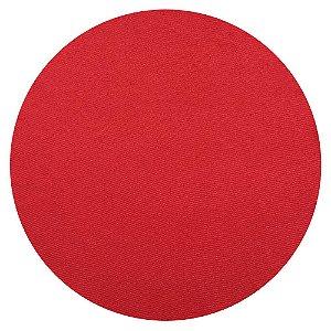 Sousplat liso vermelho