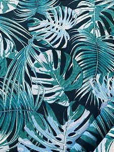 Tecido Jacquard Costela De Adão azul marinho
