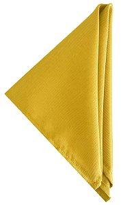Guardanapo liso amarelo