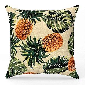 Capa de almofada Jacquard abacaxi Costela De Adão