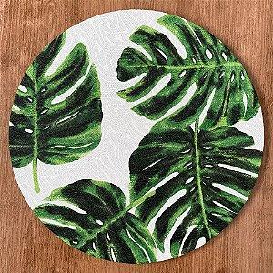 Sousplat Jacquard Costela De Adão verde