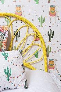 Cabeceira Folhas - Amarela - 1 Unidade