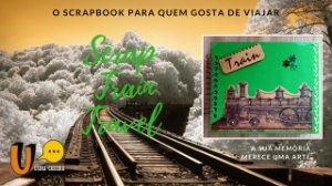 Scrapbook Train Travel (Scrapbbok para viagens)