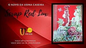 Livro de memórias para Damas e Cavalheiros  Apaixonados (Scrap Red Lux)