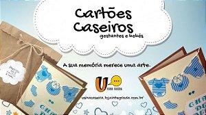 Cartões Caseiros - Gestantes e bebês
