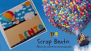 Livro de memórias personalizado (Scrap Bento)