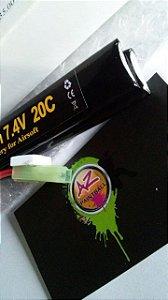 Bateria Lipo 7.4v/1300mah/20c - Double