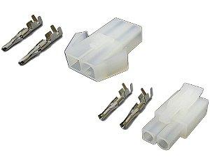 Conector Baterias padrão Mini Tamiya