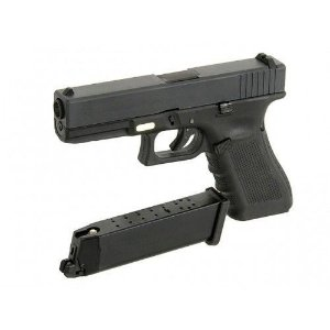 AIRSOFT GREEN GAS GLOCK G17 WE
